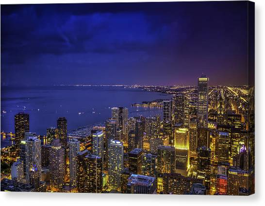 Lounge Canvas Print - A View From The Top by Achilles Haygood