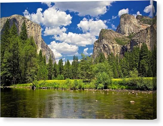 A View Of Yosemite Canvas Print