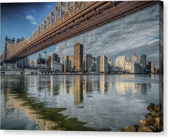 A View Under The Bridge Canvas Print