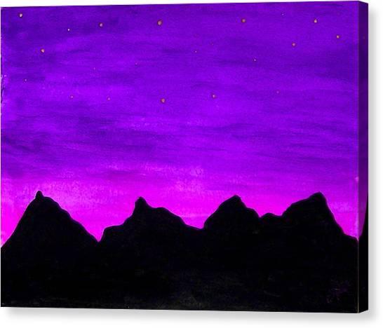 A Violet Dream Canvas Print
