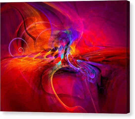 Peace Of Mind - Meditation Art Prints Canvas Print