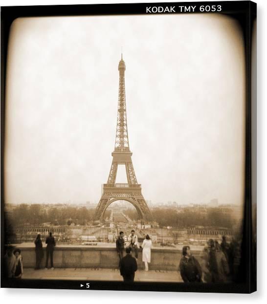 Paris Canvas Print - A Walk Through Paris 5 by Mike McGlothlen
