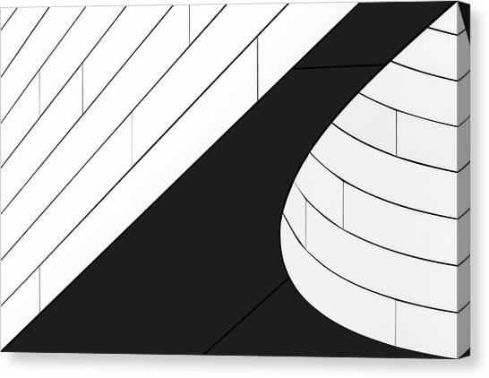 Connection Canvas Print - A Wall Detail by Theo Luycx
