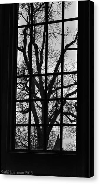 A Winter View Canvas Print by Kathi Isserman