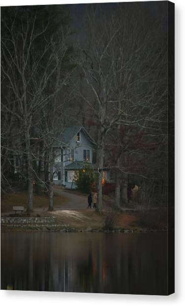 A Winter Walk Canvas Print