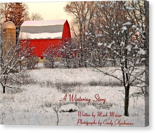 A Wintering Story Canvas Print