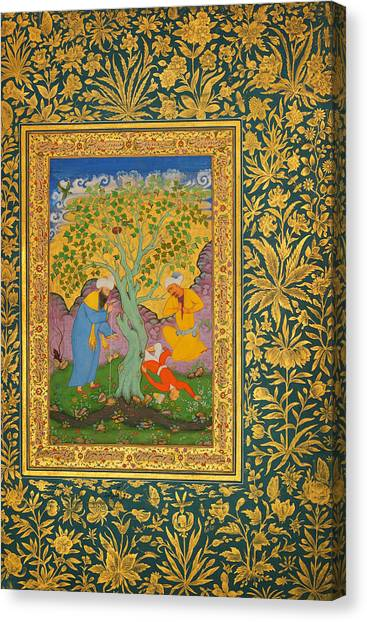 Jihad Canvas Print - A Youth Fallen From A Tree by Celestial Images