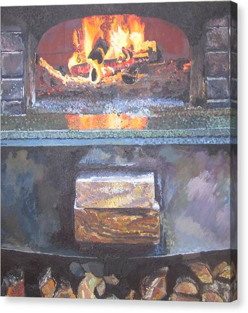 A16 Oven Canvas Print by Kendal Greer