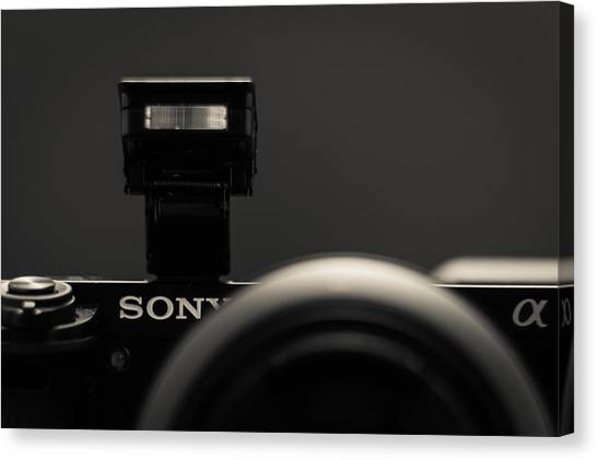 a6000 Sony Canvas Print