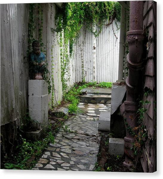 Abandoned Alley Canvas Print