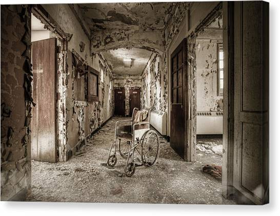 Abandoned Asylums - What Has Become Canvas Print