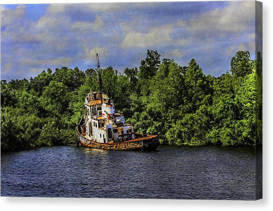 Abandoned Canvas Print by Barry Jones