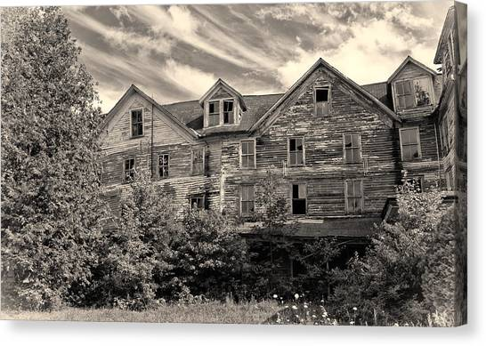 Abandoned But Awesome Canvas Print