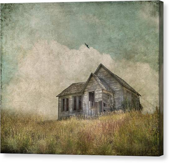 House Canvas Print - Abandoned by Juli Scalzi