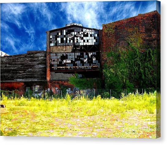 Abandoned Factory 1 Canvas Print