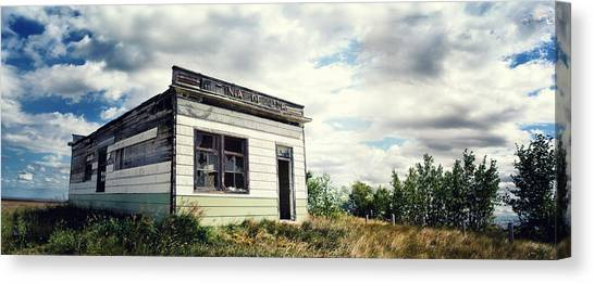 Drywall Canvas Print - Abandoned Golf Club by Starlux  Productions