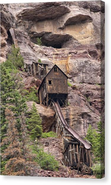 Abandoned Mine Canvas Print
