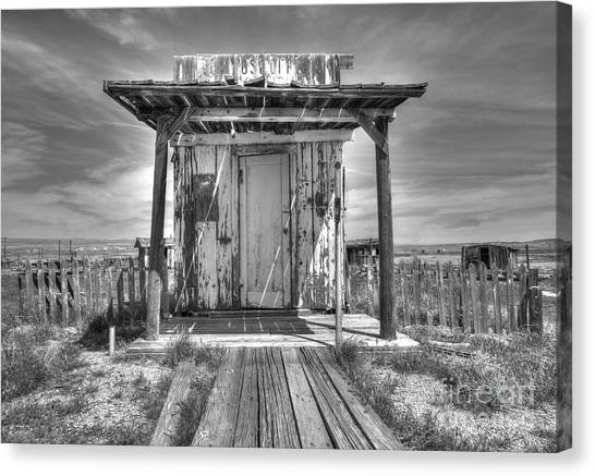 Abandoned Post Office Canvas Print