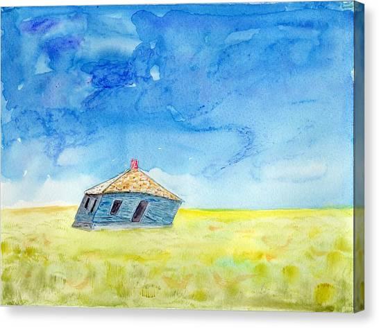 Abandoned Prairie Canvas Print