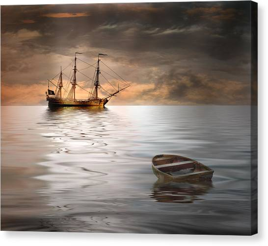 Abandoned Canvas Print by Stephen Warren