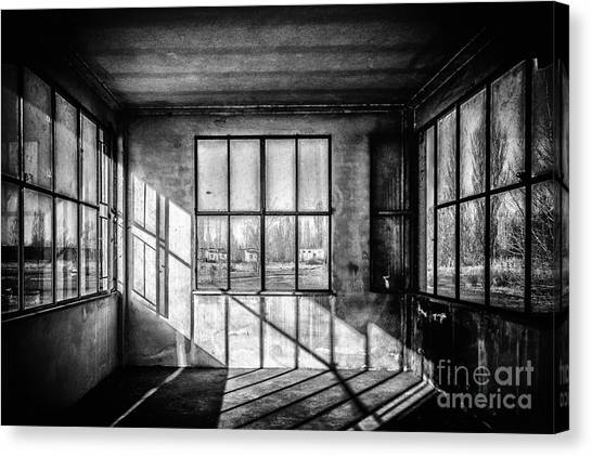 Abandoned Sugar Mill Canvas Print