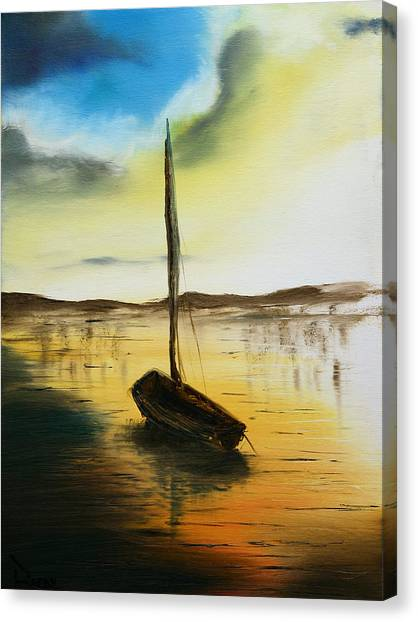 Abandoned Waters Canvas Print