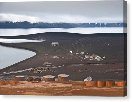 Antarctic Desert Canvas Print - Abandoned Whaling Station, Antarctica by Science Photo Library