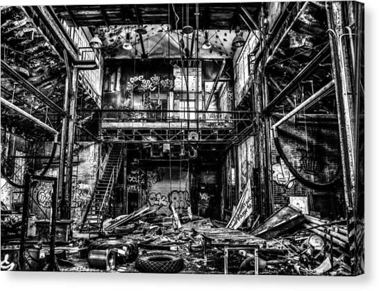 Abandonment Canvas Print