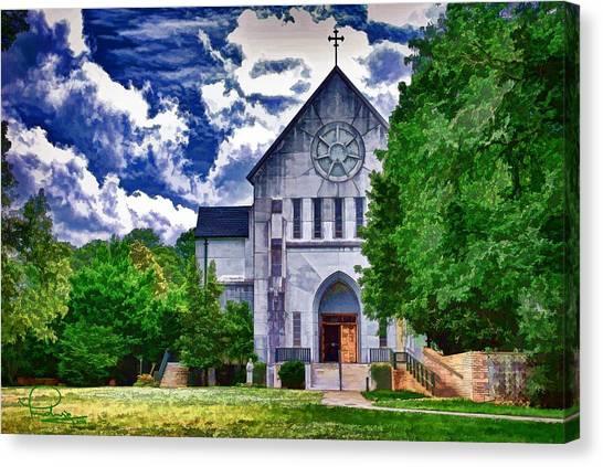 Abbey Church Canvas Print