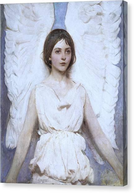 Abbott Handerson Thayer Angel 1886 Canvas Print