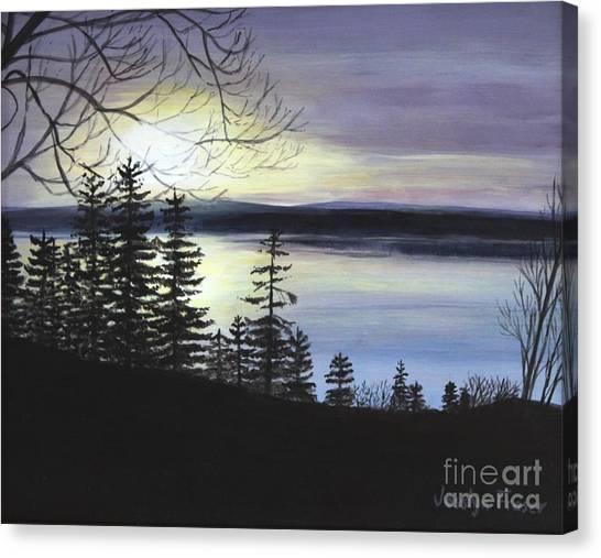 Aberdeen Sunrise Canvas Print