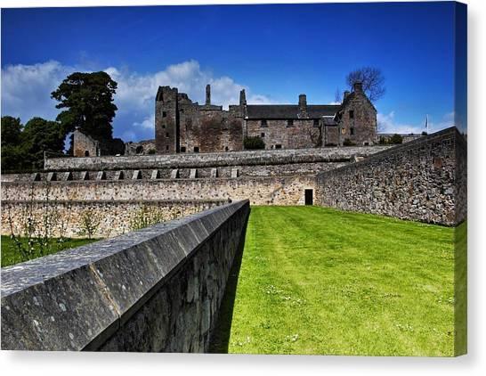 Aberdour Castle Canvas Print