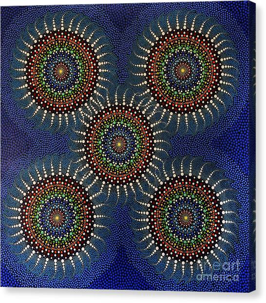 Aboriginal Inspirations 16 Canvas Print