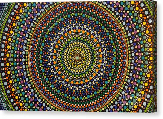 Aboriginal Inspirations 28 Canvas Print