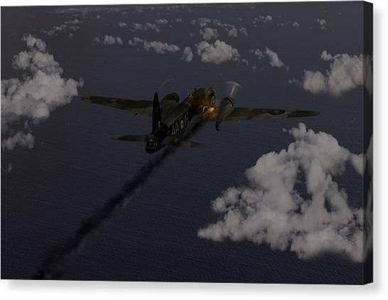 Above And Beyond - Jimmy Ward Vc Canvas Print