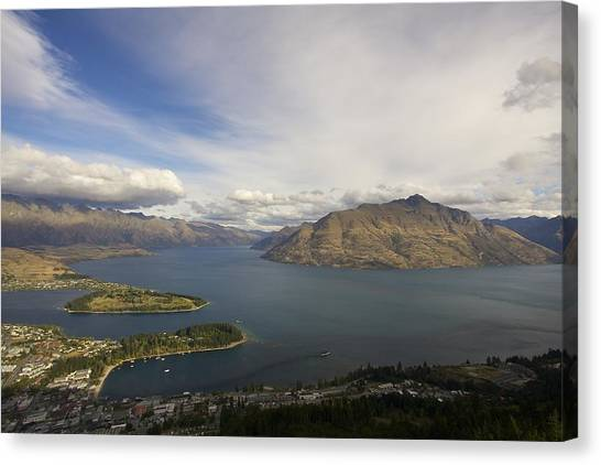 Above Queenstown #2 Canvas Print