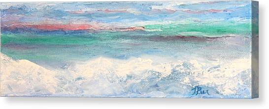 Above The Clouds I Canvas Print