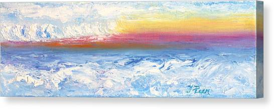 Above The Clouds II Canvas Print