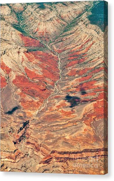 Canvas Print featuring the digital art Above Timber Line by Mae Wertz