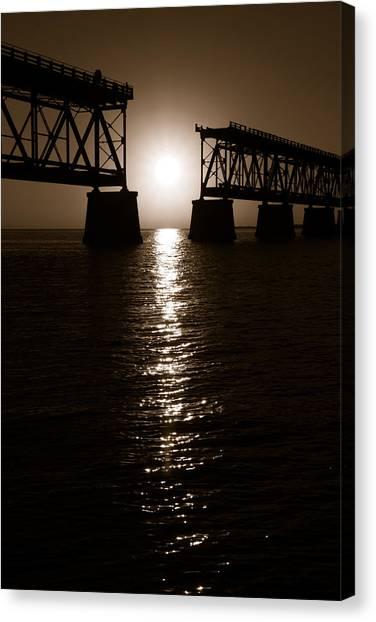 Abridged Bridge Canvas Print