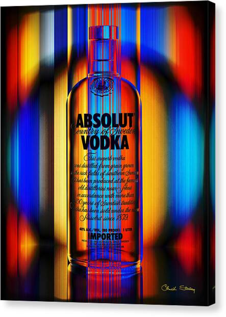 Absolut Abstract Canvas Print