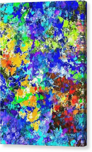 Canvas Print - Abstract 010414 by David Lane