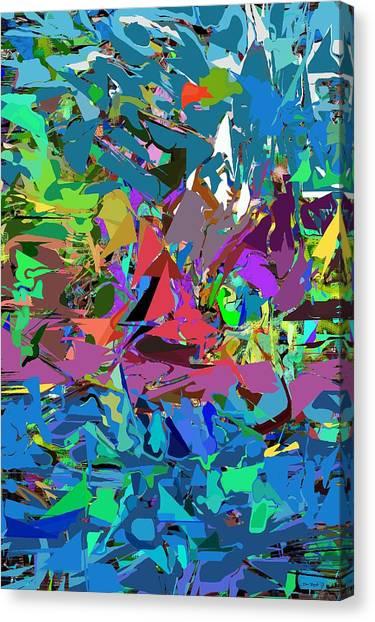 Canvas Print - Abstract 011515 by David Lane