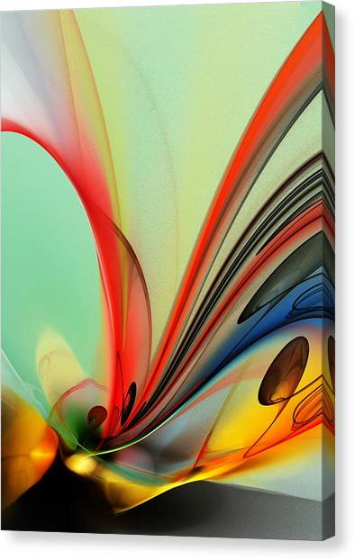 Abstract 040713 Canvas Print