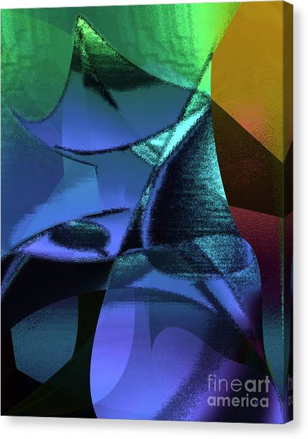Abstract 1006 Canvas Print