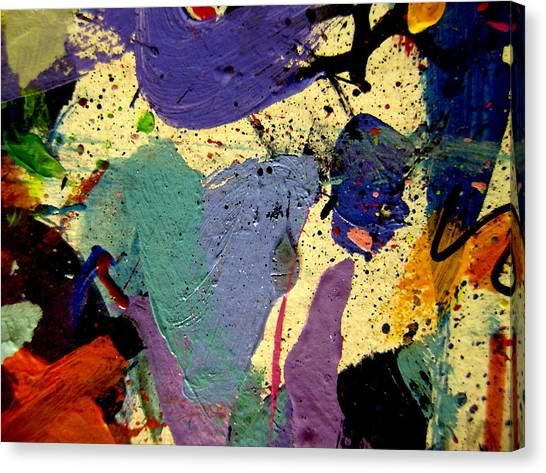 Abstract Expressionism Canvas Print - Abstract 11 by John  Nolan