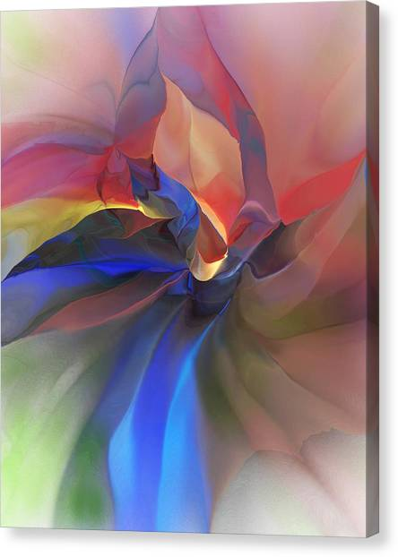 Canvas Print - Abstract 121214 by David Lane