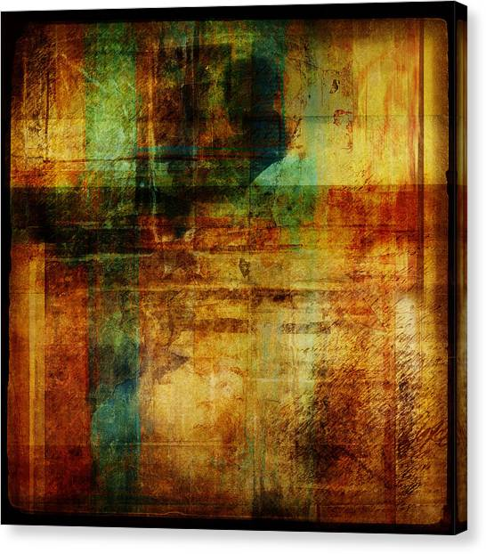 Canvas Print - Abstract 1301 by Mark Preston