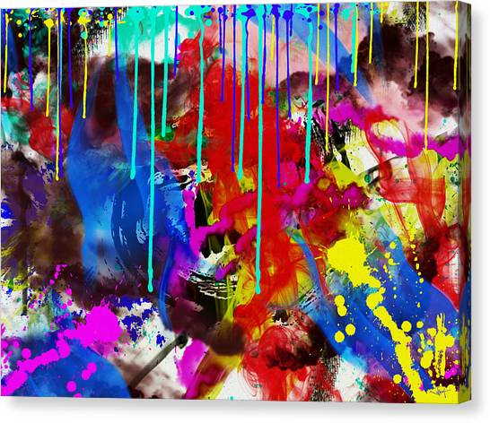 Abstract 6832 Canvas Print