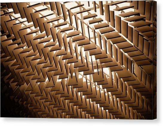 Abstract Architectural Pattern Canvas Print